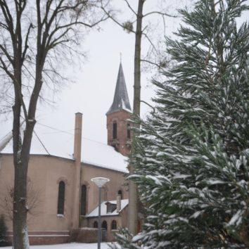 Noël à l'église protestante de la Robertsau