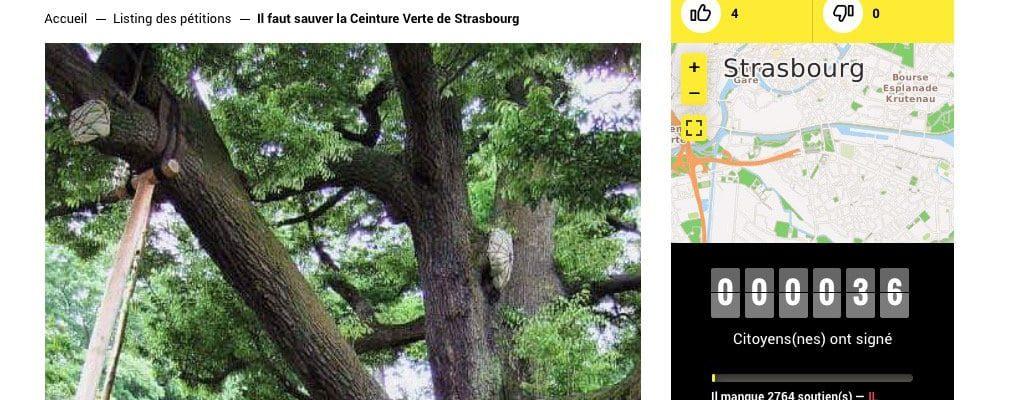 Zone verte : une pétition pour tenter d'avoir un débat au conseil municipal
