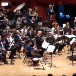 Le concert de l'Harmonie Cæcilia 1880