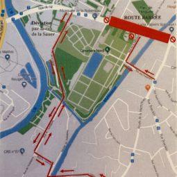 Travaux rue de l'Ill : 4ème phase