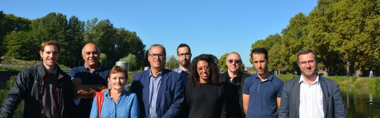 Philippe Bies en pré-campagne à la Robertsau samedi 24 novembre 2018