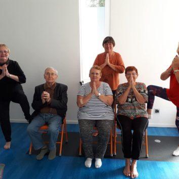 Yoga à la Robertsau avec Noémie