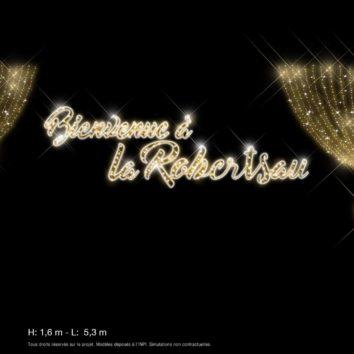 Lancement des illuminations de Noël à la Robertsau