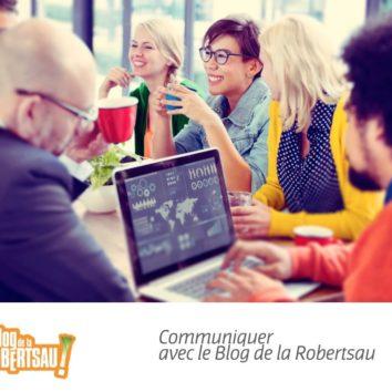 Communiquer sur le Blog de la Robertsau