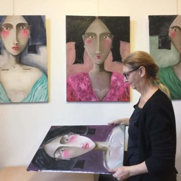 Claudine Malraison : exposition à Mundolsheim