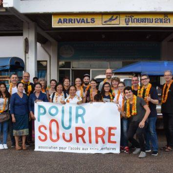L'association Pour Sourire en mission au Laos