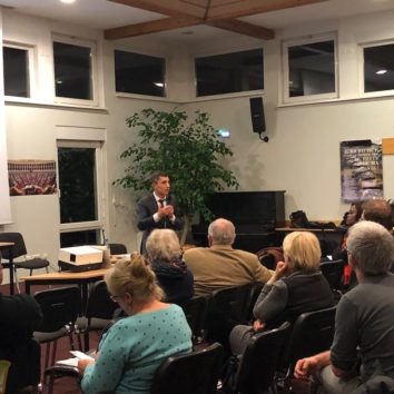 Réunion publique avec le député Bruno Studer