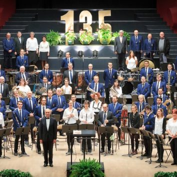 Concert de l'Harmonie Cæcilia à Hoenheim