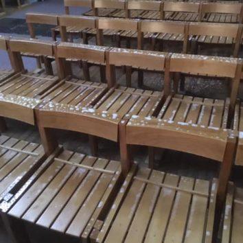 L'église St Louis vandalisée