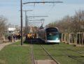 [Vidéo] Premier tram au cœur de la Robertsau