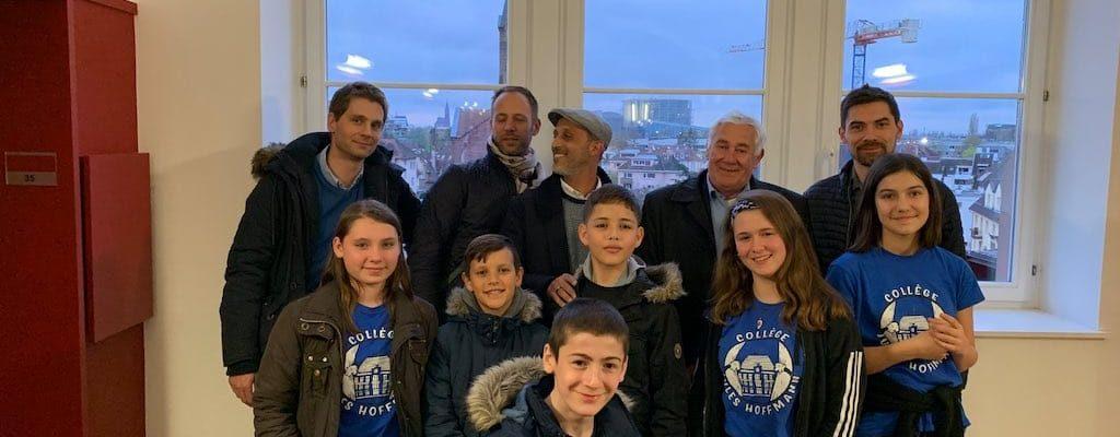 [Vidéo] Les commerçants de la Robertsau visitent le collège Jules Hoffmann