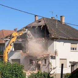 Rue de la Thur : ça démolit