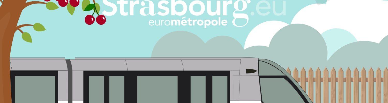 Inauguration officielle de l'extension du tram E