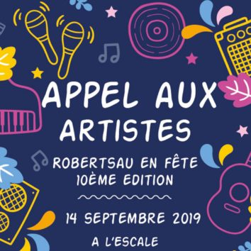 Appel aux artistes : Robertsau en Fête 2019