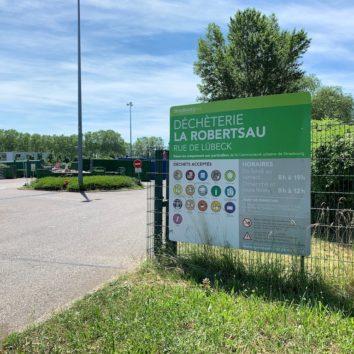 Collecte des déchets à la Robertsau