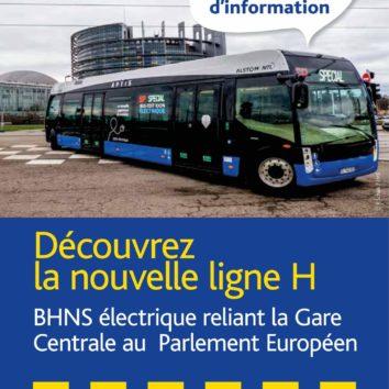 Réunion publique pour la nouvelle ligne BHNS du Wacken à la Gare