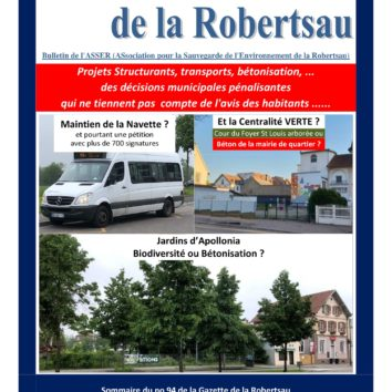 La Gazette de la Robertsau n° 94