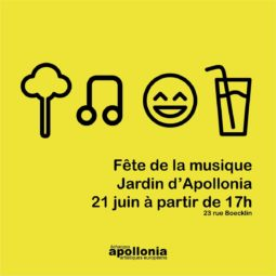 Fête de la musique dans le Jardin d'Apollonia