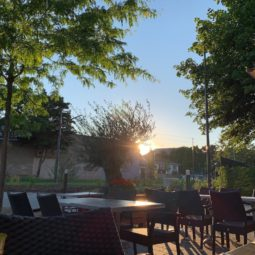 Terrasse de La Vignette : le goût du paradis.