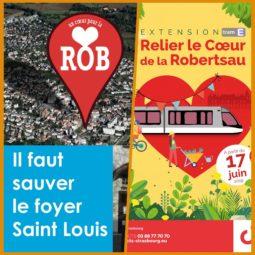 """Victoire culturelle du collectif """"Un cœur pour la Robertsau"""""""