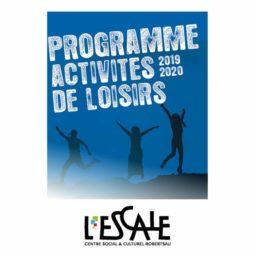 Activités de Loisirs 2019-2020 à l'Escale