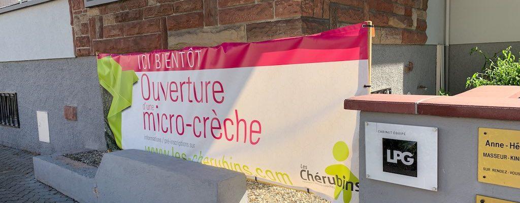 Micro-crèche Les Petites Coccinelles des Chérubins : ouverture le 14 octobre
