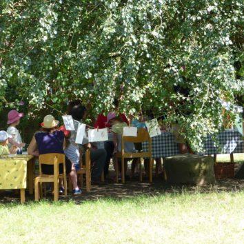 Atelier jardins surprenants au CINE de Bussière