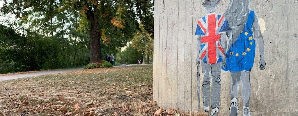 Une œuvre de street art pour célébrer l'amitié entre l'Europe et le Royaume-Uni