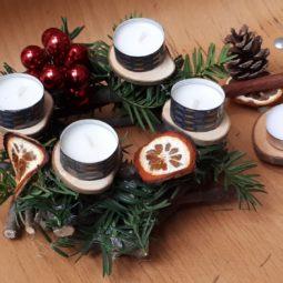 Atelier décorations de Noël à l'espace Apollonia