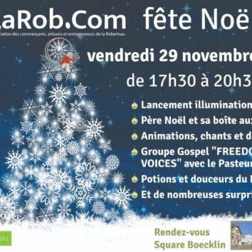 Noël à la Robertsau, les commerçants vous donnent rendez-vous le 29 novembre