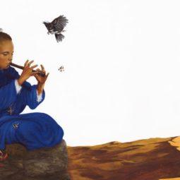 Exposition : contes natur'ailes au CINE de Bussierre