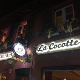 Un dîner à La Cocotte