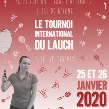 Tournoi International du Laüch - Breaking (BAD) news