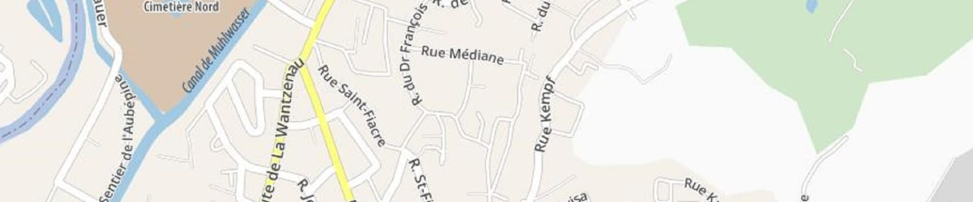 Les odonymes de notre quartier Robertsau – Wacken