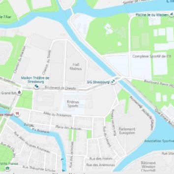 La Robertsau : Les odonymes du quartier Wacken