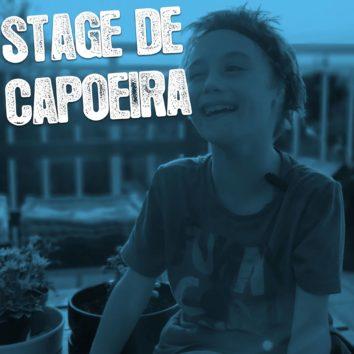 Stage de capoeira pour Evan (Oreille pour un ange)