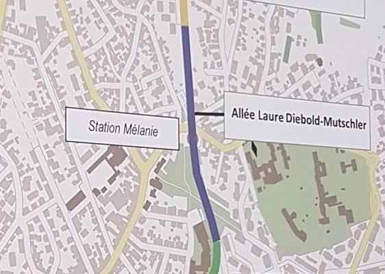 La Résistance alsacienne féminine à l'honneur le long du Tram E