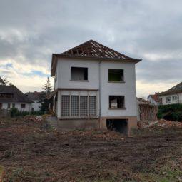 Rue des Mimosas : 9 logements à place d'une maison