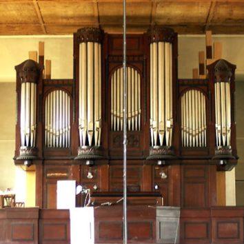Concert à quatre mains à l'église protestante rue Boecklin