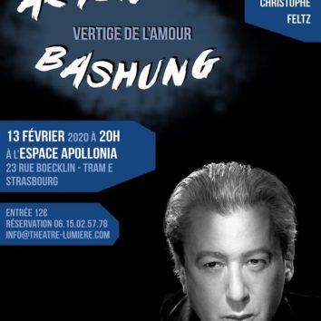 Théâtre Musical « Vertige de l'Amour » d'Alain Bashung le 13 février à 20h00