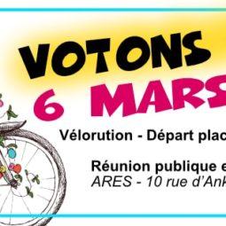 Vélo et municipales : le débat de Vélorution Strasbourg