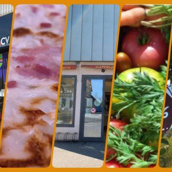 Courses, restaurants, commerces : toutes les informations - maj 21mai