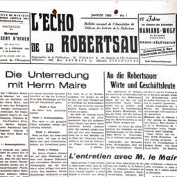 60 ans d'Echo de la Robertsau