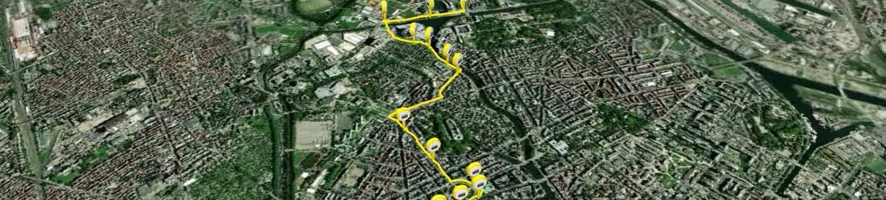 Relier la place Kléber depuis la Robertsau à vélo : Thierry Roos a relevé le défi