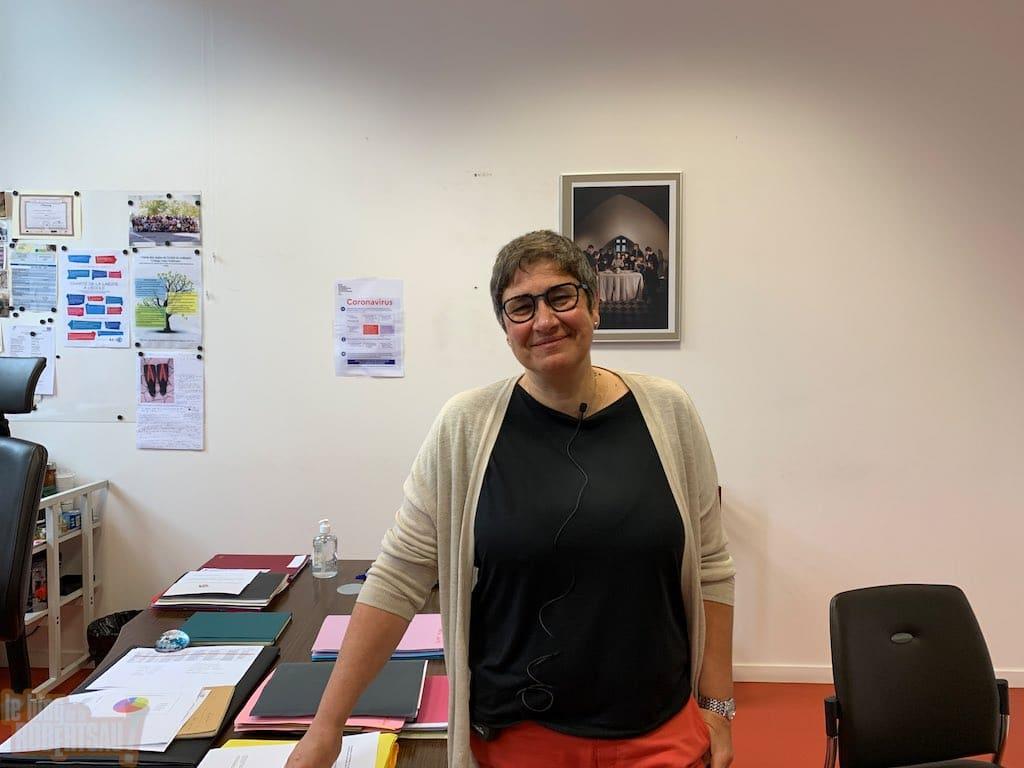 Dominique Caminade quitte le collège Jules Hoffmann de la Robertsau