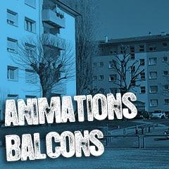 Les animations balcons à la Robertsau