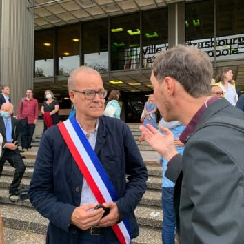 Marc Hoffsess 3° adjoint et délégué à la Robertsau