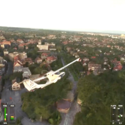 Survol de la Robertsau avec Flight Simulator 2020