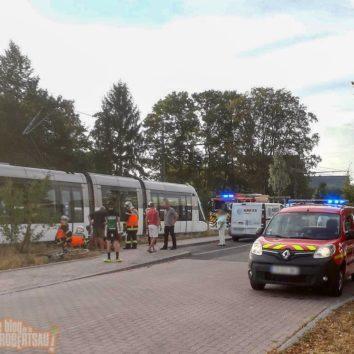 Dramatique accident entre un vélo et un tram près de la Petite Orangerie
