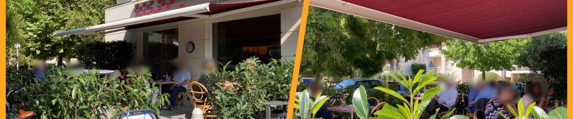Le Framboisier : la terrasse pour les petites pauses sympas